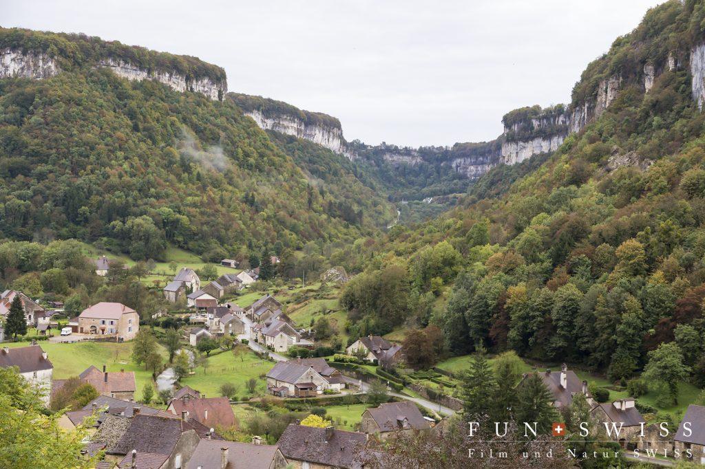 フランスの美しい村に指定されたボーム・レ・メッシュー村