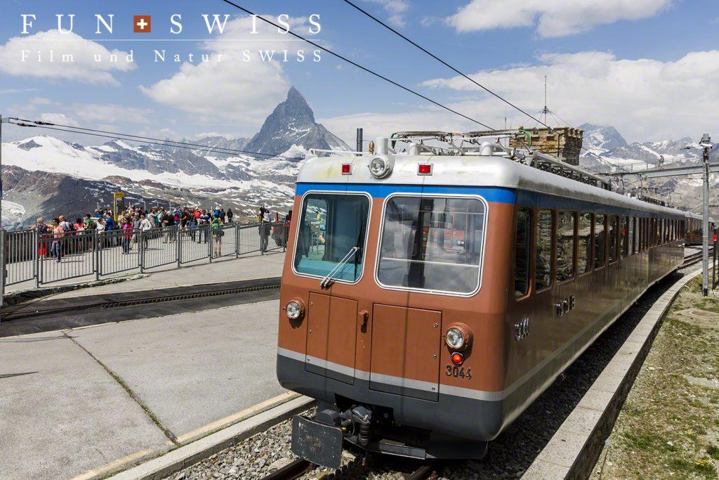 ゴルナグラート登山列車
