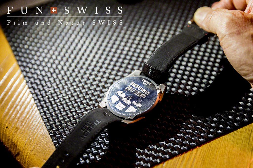 ヨッホの時計屋さんで購入したTISSOTの2017年限定時計!12年に一度のウンシュプンネン祭りのロゴ入り