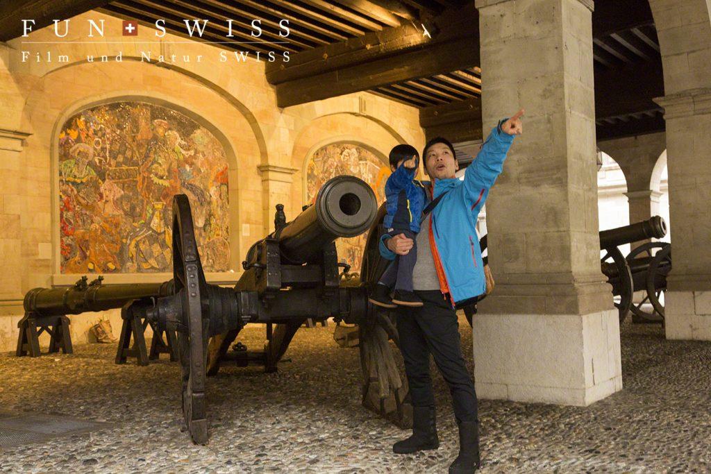17〜18世紀に使われた大砲