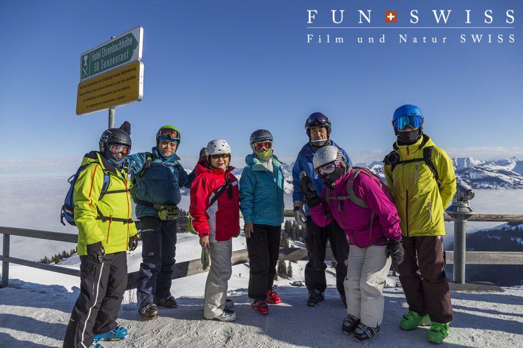 海外スキーはベテランですが、以外とオーストリアは初心者の皆様