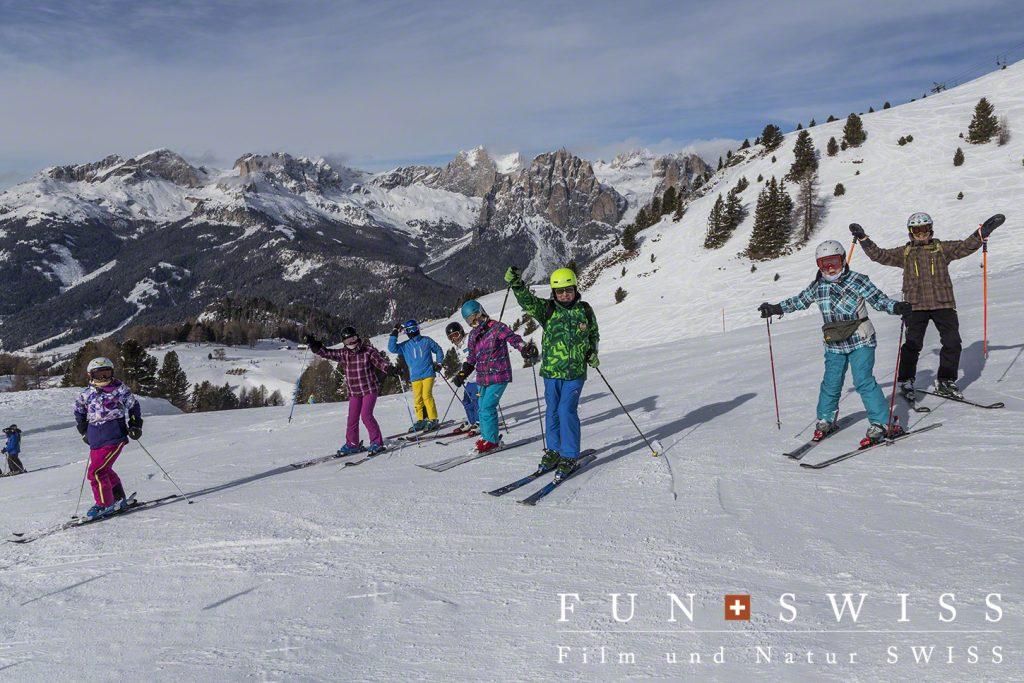 9日間滑り続けるスキー大好きな皆々様