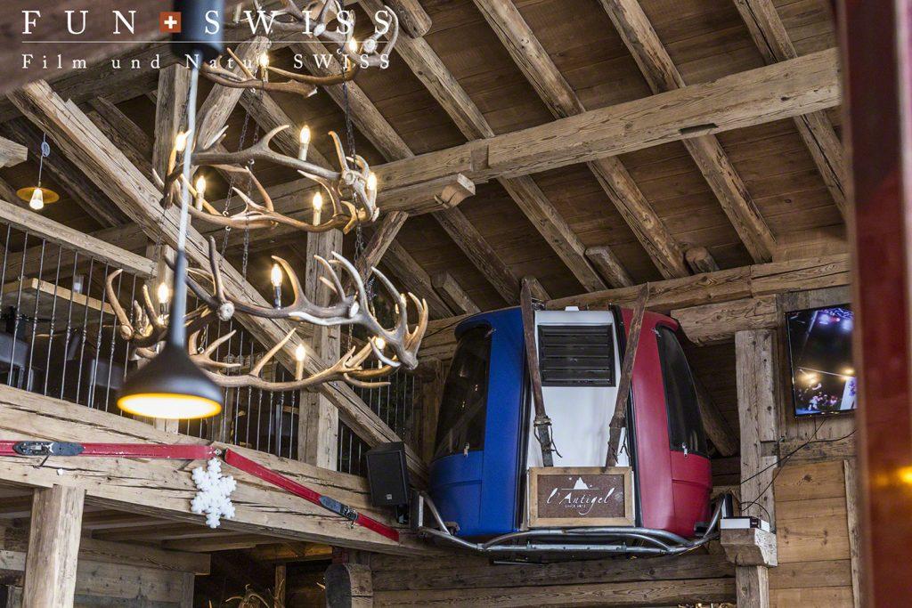 フランス側のオシャレなレストラン