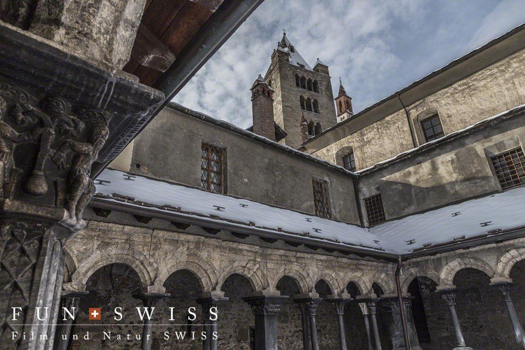 11世紀にたてられたロマネスク教会