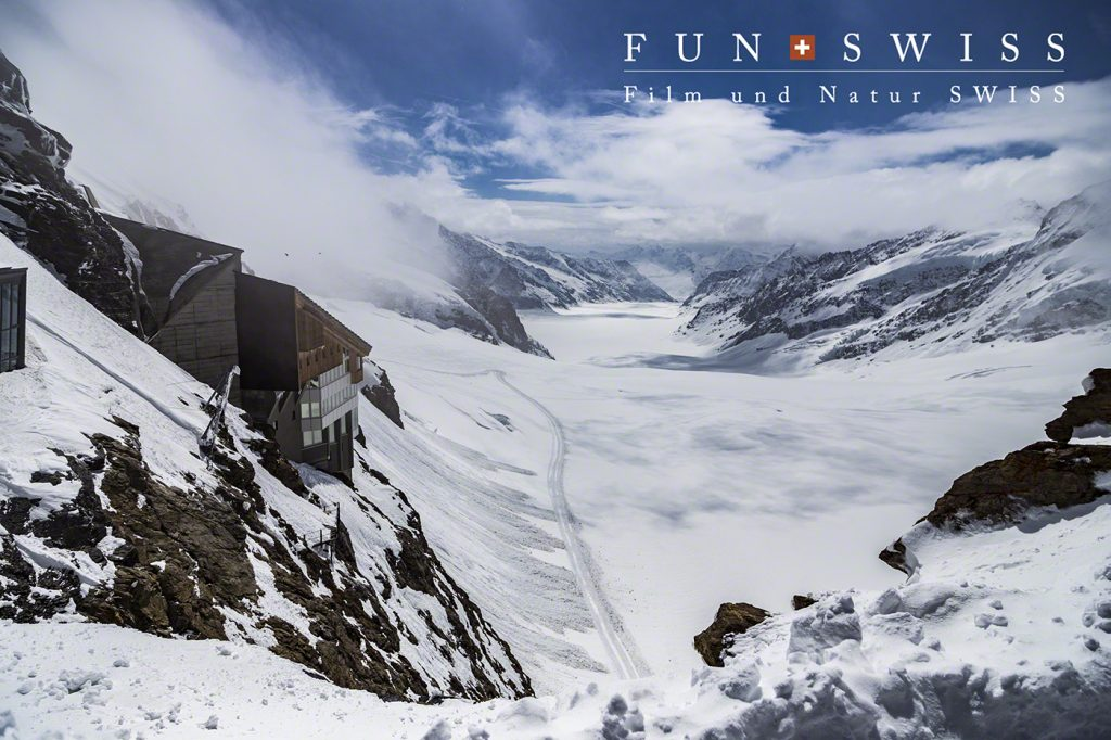 ヨーロッパ最大のアレッチ氷河