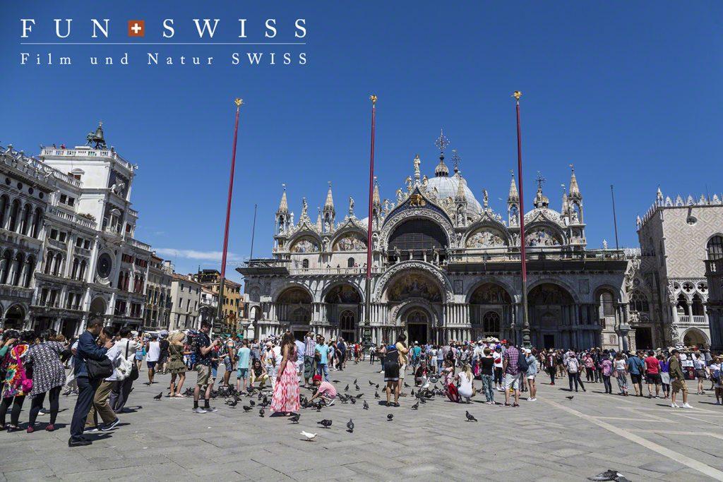 ヴェネチアの中心、サンマルコ寺院