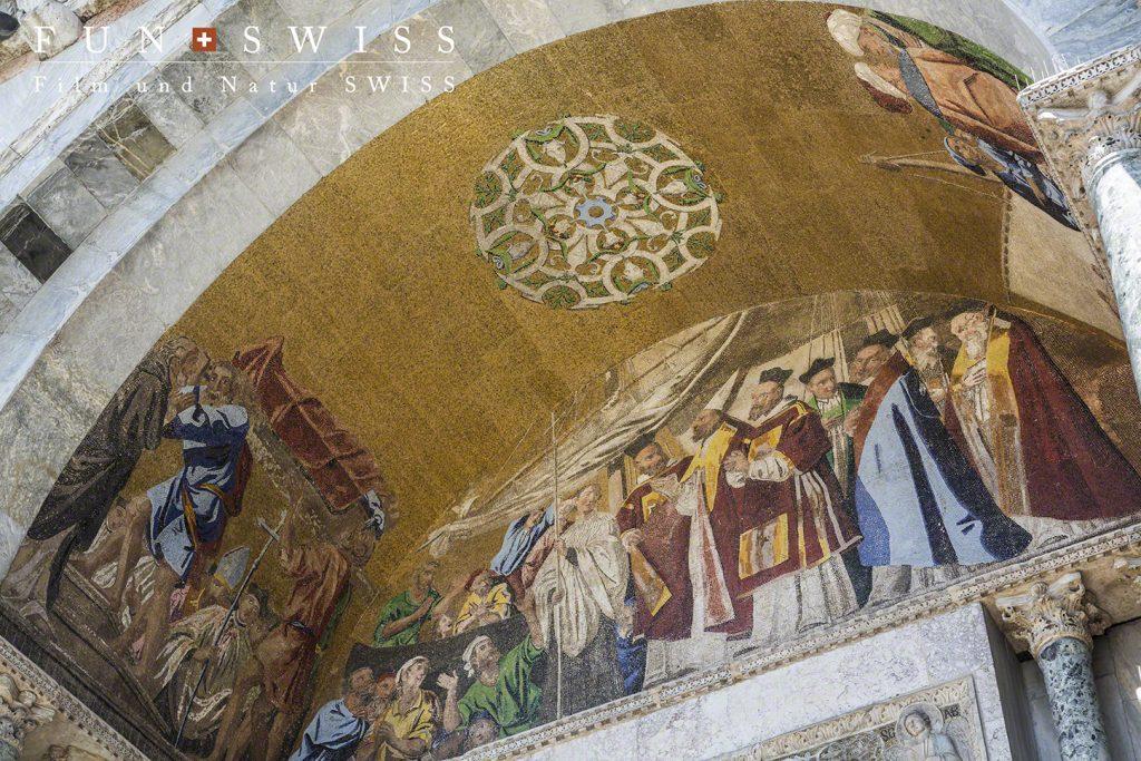 サンマルコ寺院のモザイク画