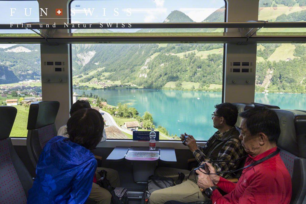 ルツェルンからのパノラマ列車旅