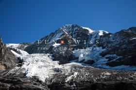 メンヒとアイガー氷河