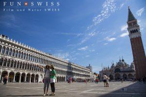 ヴェネチアの中心、サン・マルコ広場