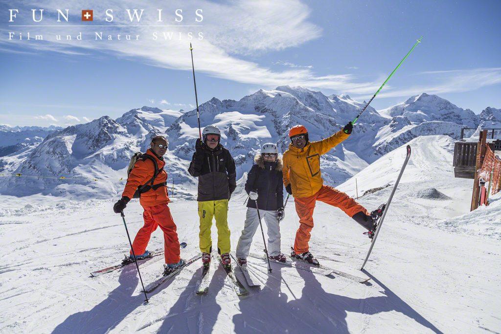 居残りスキー組と