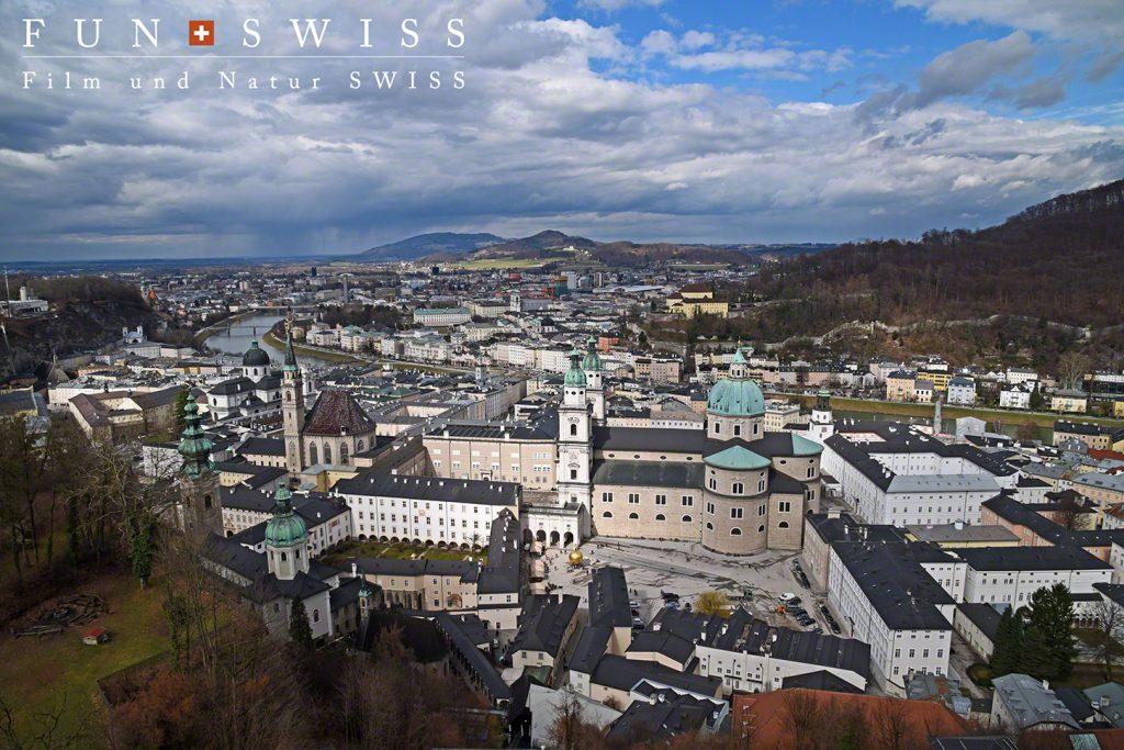 ※撮影SHIOTA氏 お城からザルツブルク市街を見渡す