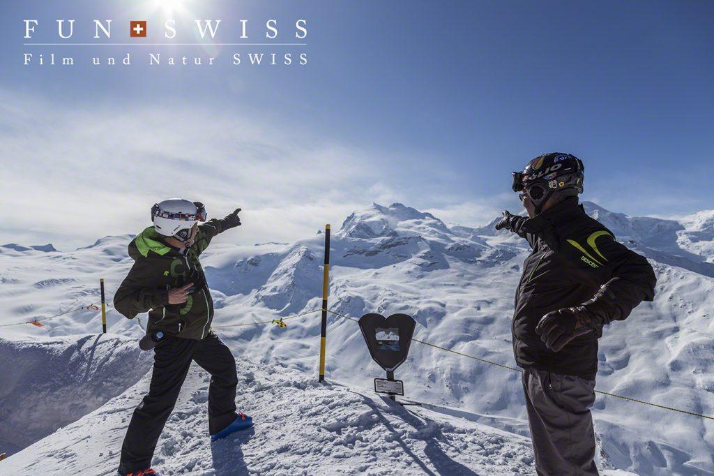 スイス最高峰のモンテローザ