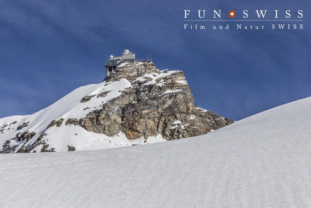 ユングフラウヨッホのスフィンクス展望台
