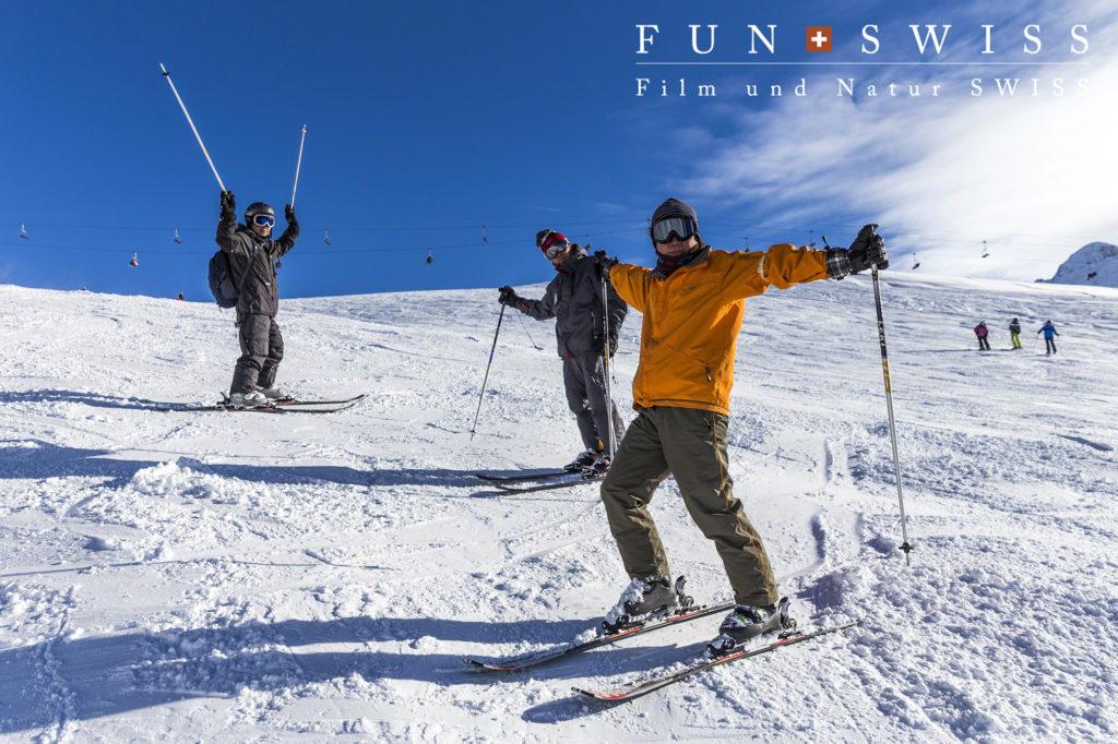 親子でスキー!!!
