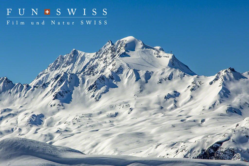 ル・グランモット3,656m(氷河スキーエリア)