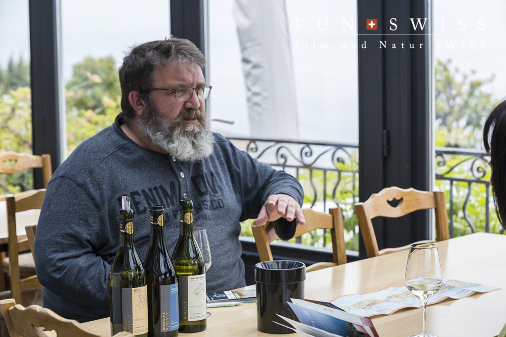シャルドンヌ地区のワイン農家