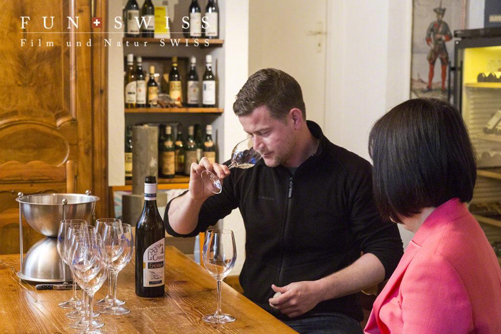 エッペスエリアの4代目のワイン農家