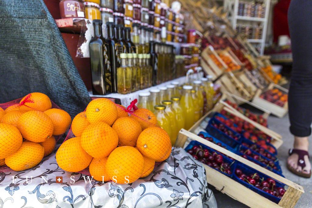 柑橘類を中心に、沢山のフルーツが内陸で作られる