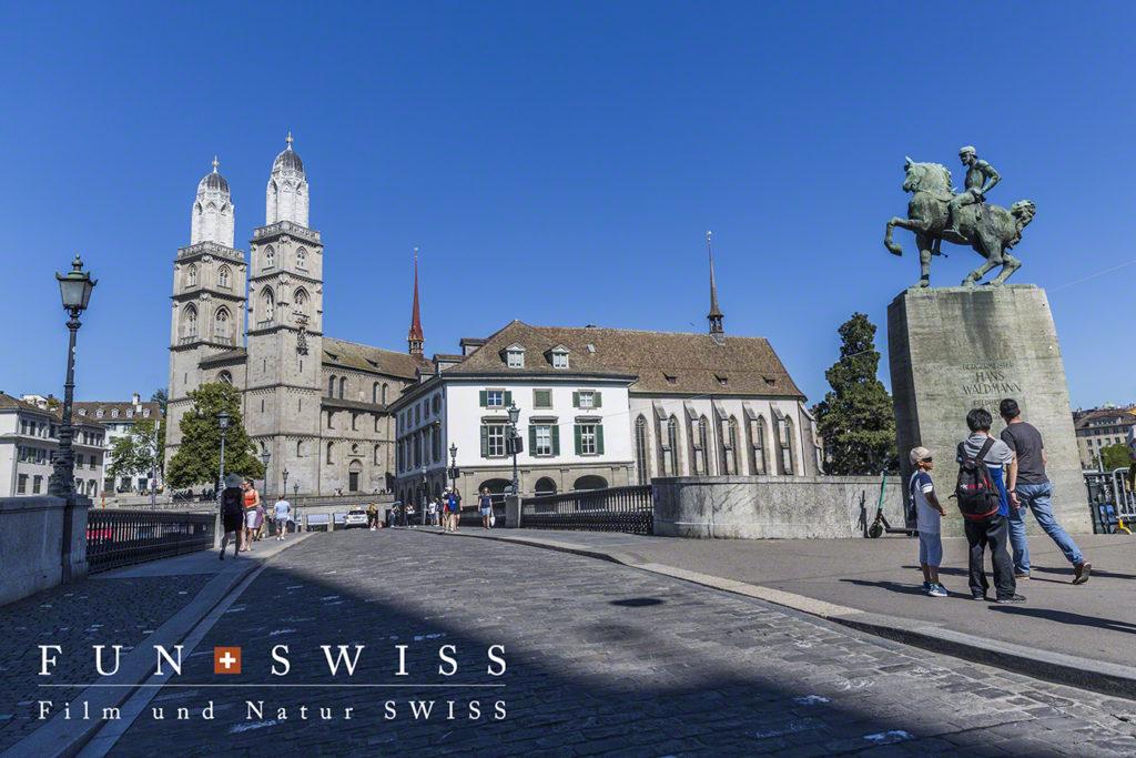 シンボルのグロースミュンスター大聖堂