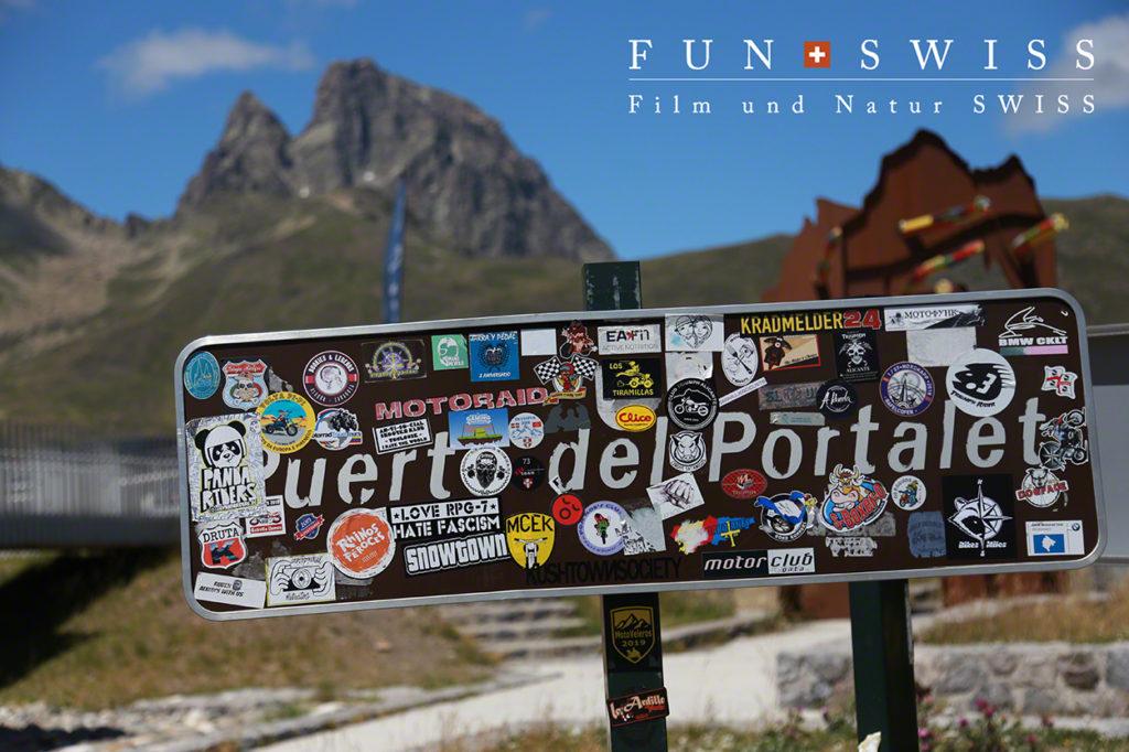 フランス&スペイン国境のポルタレ峠