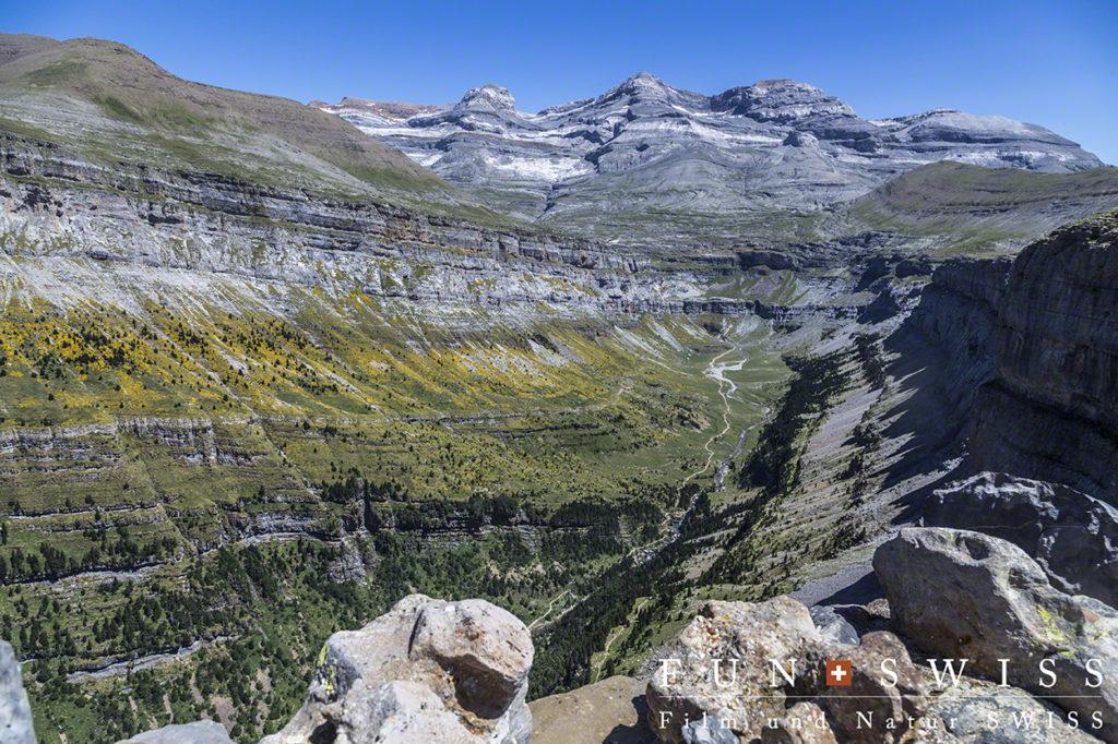 オルデサ渓谷とモンテ・ペルディード