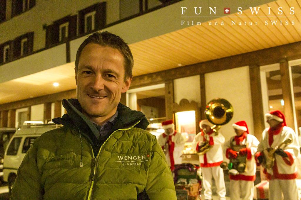 イベント企画者ウェンゲン観光局長のロルフさん