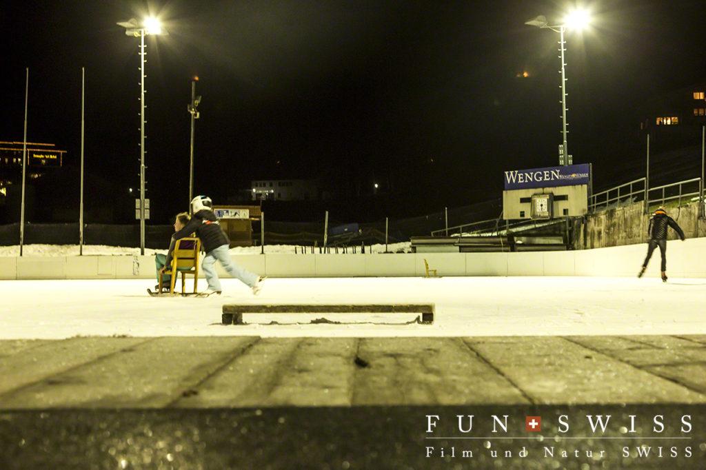 今夜はスケートも無料です!